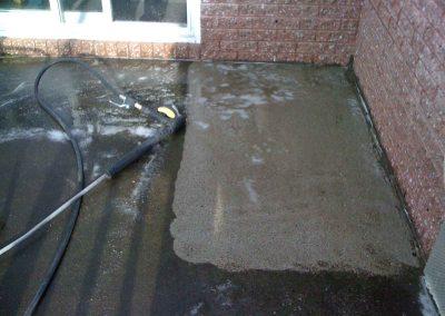 Lavage à pression de terrasse à Terrebonne - Lavage Pression Net à Morin Heights